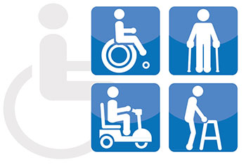 Disabled facilities at Athens airport